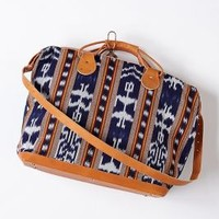 Palapa Woven Weekender by Anthropologie Navy One Size Bags