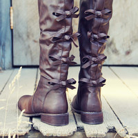 The Bow Back Boots