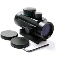 1X40 Tactical Holographic Red Green Dot Rifle scope Sight For 11mm 20mm Picatinny Weaver Mount Optical Sight Scope Red Dot Scope