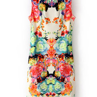 'The Clariee' Floral Printed Sleeveless Dress