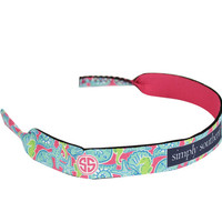 Simply Southern Preppy Collection Sunglass Straps Seashell RETAINER-SEASHELL