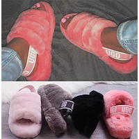 UGG women men Boots Shoes slippers plush slippers