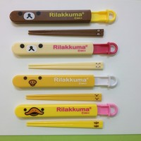 Chopstick - San-X Rilakkuma Chopstick & Case - fit Japanese Household Products Store