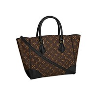 Authentic Louis Vuitton Monogram Canvas Phenix MM Bag Handbag Article: M41542 Made in France