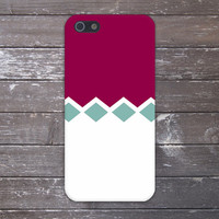 Violet Red x Light Mint Diamonds Case for iPhone 6 6 Plus iPhone 5 5s 5c iPhone 4 4s Samsung Galaxy s5 s4 & s3 and Note 4 3 2