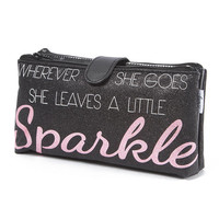 Wherever She Goes She Leaves A Little Sparkle Cosmetic Bag