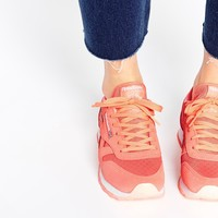Reebok CL Leather Ice Coral Trainers