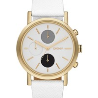 White Strap Link Watch by DKNY Online   THE ICONIC   Australia