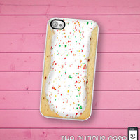 iPhone 4S Case Slim Profile  Toaster Pastry / Hard Case For iPhone 4 and iPhone 4S Kawaii Breakfast Food