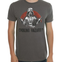 Star Wars Darth Vader Choking Hazard T-Shirt
