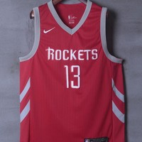 Houston Rockets #13 James Harden Nike Icon Edition NBA Jerseys