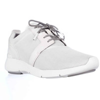 MICHAEL Michael Kors Amanda Trainer Mesh Sneakers - Optic White