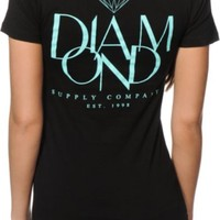 Diamond Supply Co. Parisian V-Neck T-Shirt
