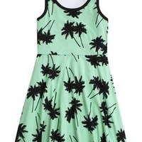 Printed Fit & Flare Dress | Girls Dresses Clothes | Shop Justice