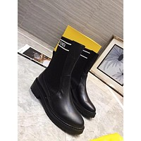 Fendi Women's Leather Fashion Boots Shoes