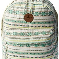 O'Neill Juniors Kayla Printed Cotton Canvas Backpack