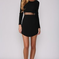 Hush Hush Dress Black