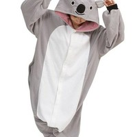 Koala Onesuit Pajamas Adult Anime Cosplay Halloween Costume Homewear