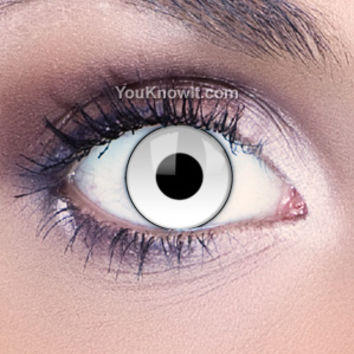 Costume Contact Lenses   Funky Eyes Manson Contact Lenses