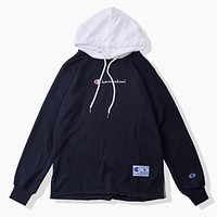 Champion Women Men Fashion Casual  Top Sweater Hoodie