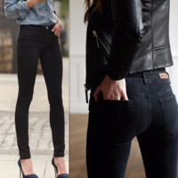 Thick Women Jeans Stretch Skinny Pencil