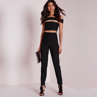Summer Strapless Sexy Club Pants Jumpsuit [9430701892]