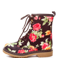 GIRLY GIRL COMBAT BOOTS