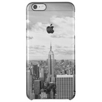 New York City NY NYC skyline wanderlust travel Uncommon Clearly™ Deflector iPhone 6 Plus Case