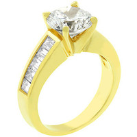 For Her Anniversary Ring In Gold