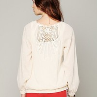 Free People That's A Wrap Crochet Top