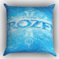 Frozen Disney Movie Zippered Pillows  Covers 16x16, 18x18, 20x20 Inches