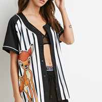 Bambi Graphic Baseball Jersey