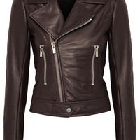 Balenciaga - Leather biker jacket