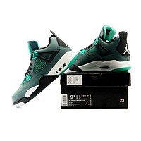 Air Jordan 4 Retro 30th Gg Teal Sneaker Shoes Us Size 8 12 | Best Deal Online