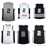 mens 2016 kawhi leonard jersey youth Kids adult 100% Stitched nmae and number basketball jerseys clothes fast shipping