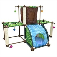 Rainforest Tropical Getaway Cat Furniture