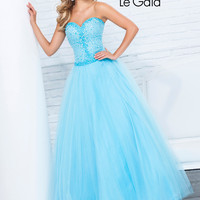 Sweetheart Jeweled Bodice Prom Gown By Tony Bowls Le Gala 115552
