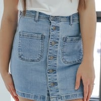 Meant To Be Mini Skirt
