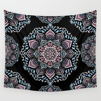 Mystic Dreams Night Wall Tapestry by Lisa Argyropoulos