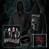 Malevolence - Signed CD/Zip-Up/Wristband/Poster Bundle : NYD0 : New Years Day