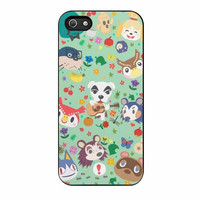 animal crossing new leaf town folk case for iphone 5 5s