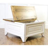 Brocante Trunk Storage Coffee Table