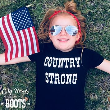 Country Strong Toddler/Youth Tee