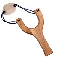 Camden Rose Classic 1950's Style Wooden Slingshot