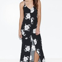 Kendall & Kylie Button-Down Maxi Slip Dress at PacSun.com