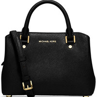 MICHAEL Michael Kors Savannah Small Satchel | macys.com