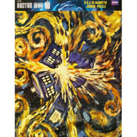 Doctor Who Exploding TARDIS Magnetic Puzzle