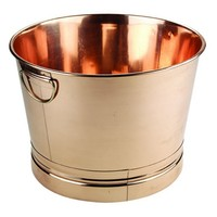 Old Dutch Round Decor Copper Party Tub | www.hayneedle.com