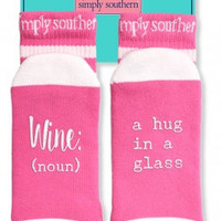 "Simply Southern ""Wine"" Socks"