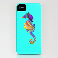 Psychedelic Seahorse iPhone Case by JT Digital Art  | Society6